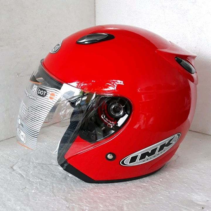 Helm INK Centro Basic Merah - Not Ori