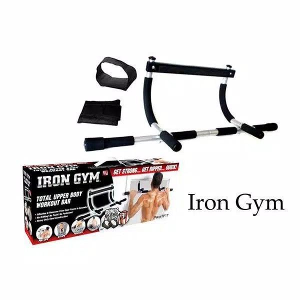 Iron GYM Alat Fitnes Pull Up Alat Olah Raga Angkat Badan