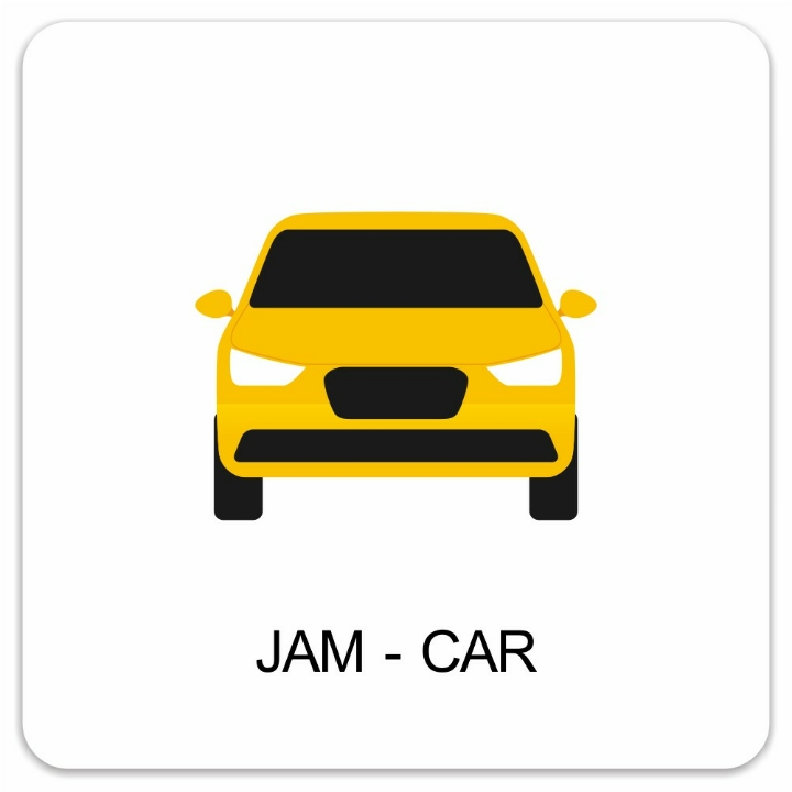 JAM-CAR 1- 4 Orang