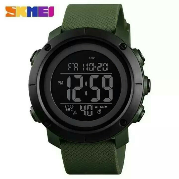 JAM TANGAN SKMEI MEN SPORT DIGITAL LED ORIGINAL WATERPROOF