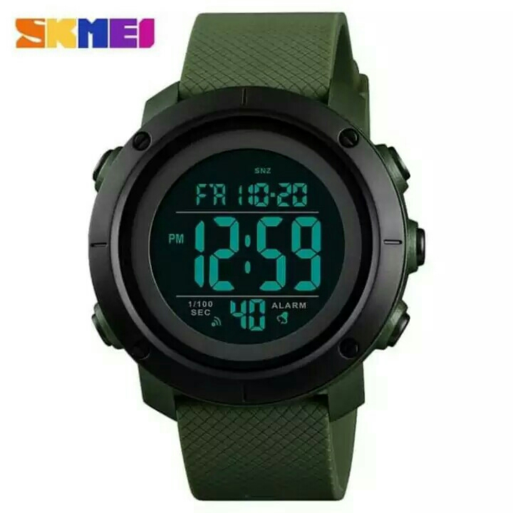 JAM TANGAN SKMEI MEN SPORT DIGITAL LED ORIGINAL WATERPROOF 2