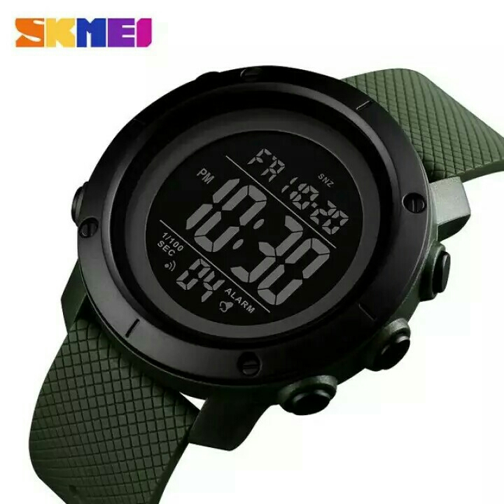 JAM TANGAN SKMEI MEN SPORT DIGITAL LED ORIGINAL WATERPROOF 3