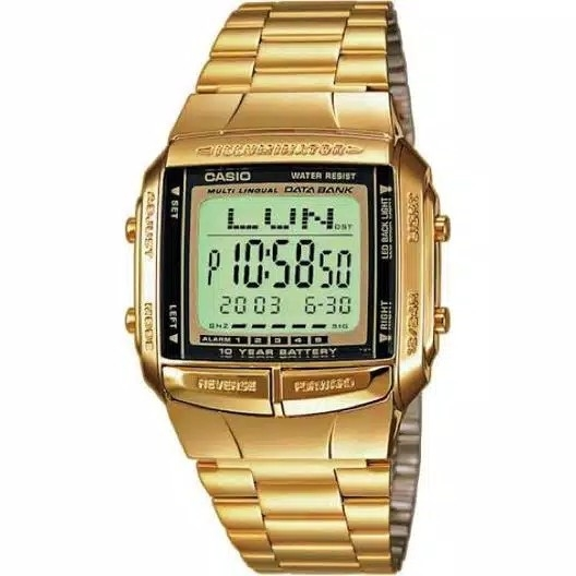 Jam Tangan Casio BD360G - Gold Original