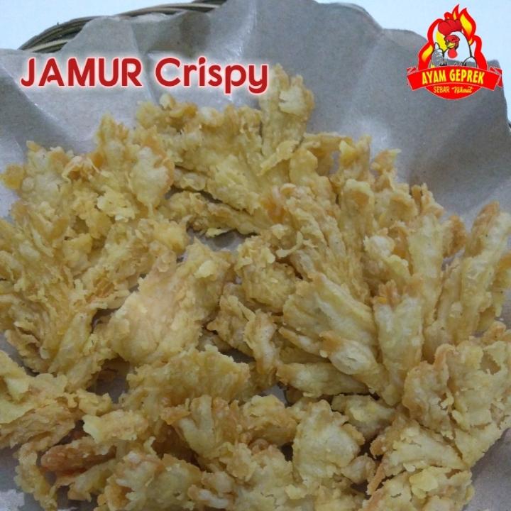 Jamur Crispy Or Geprek