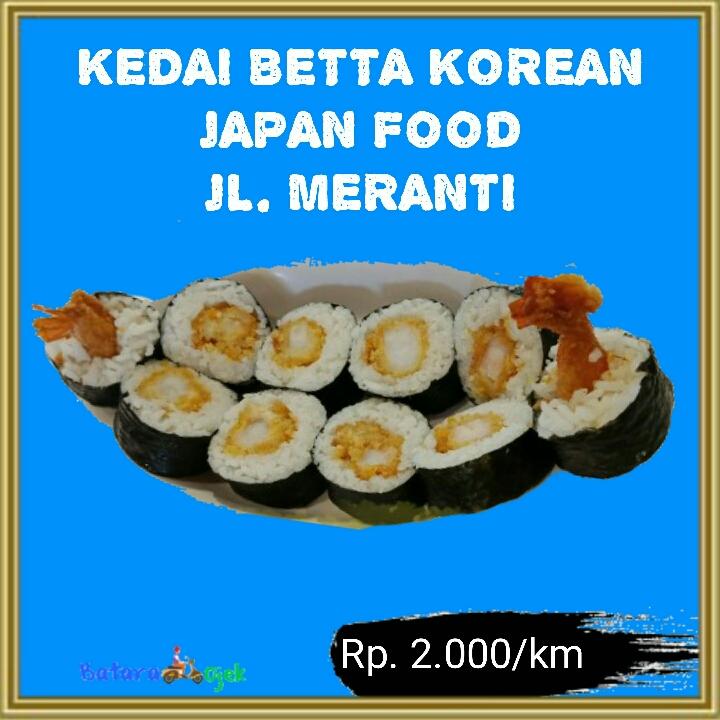 KEDAI BETTA KOREAN JAPAN FOOD Dekat Pasar Dermaga
