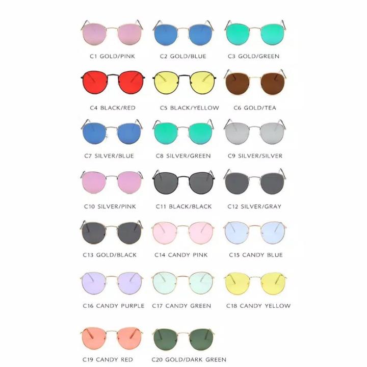 Kacamata Hitam Unisex Korean Desgin Besi Frame