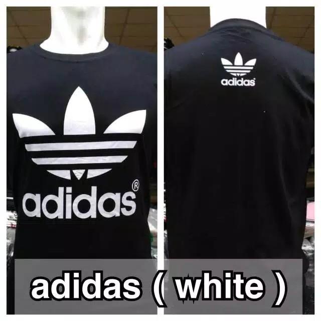Kaos Adidas White