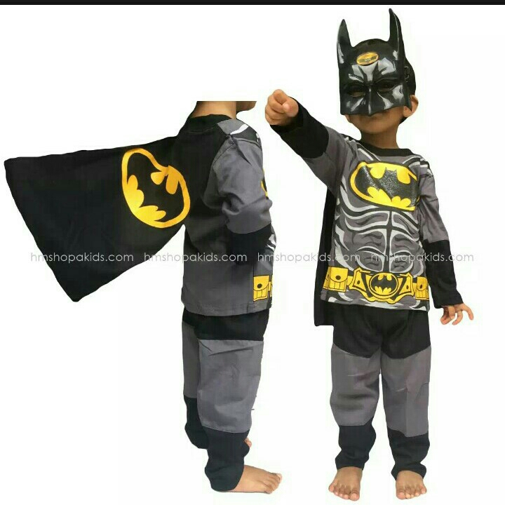 Kostum Batman 5-7thn