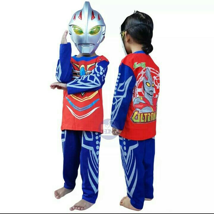 Kostum Ultraman 5-7thn