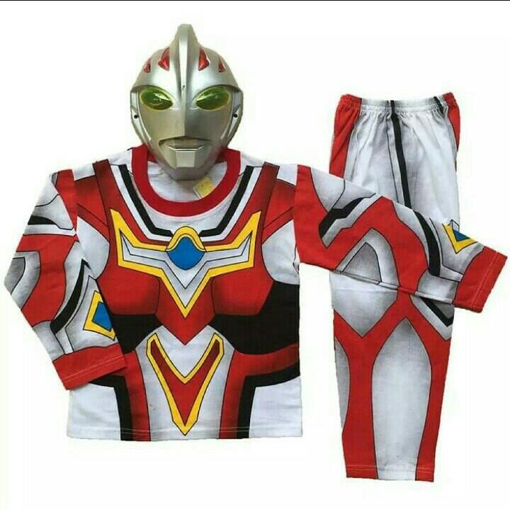 Kostum Ultraman Merah