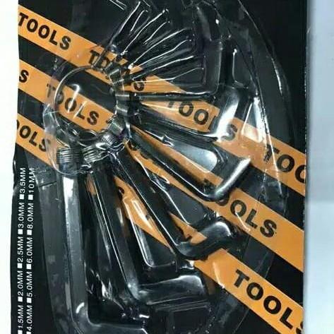 Kunci L Satu Set 10 Pcs