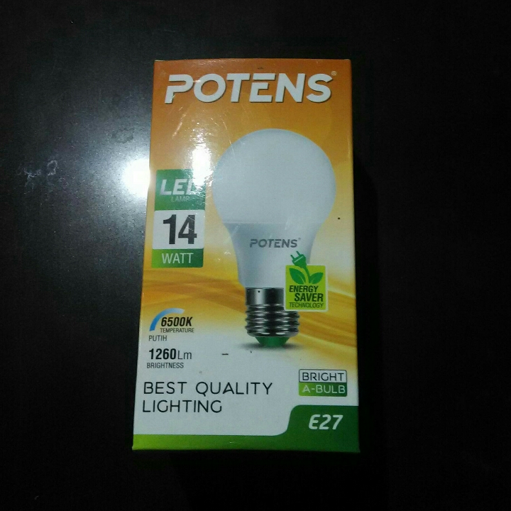 Lampu LED Potens 14 W