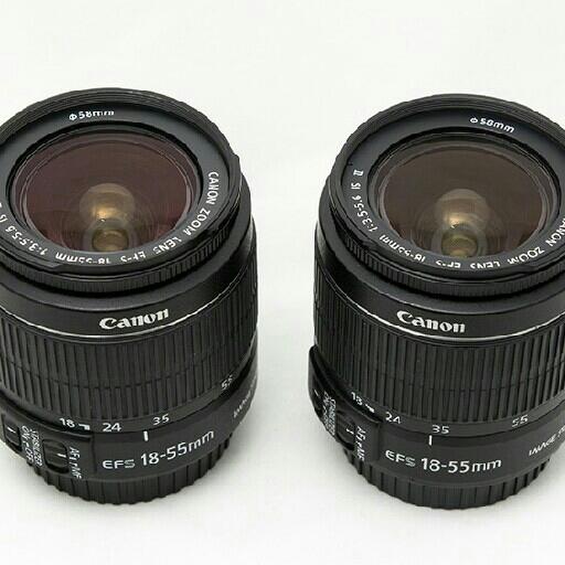 Lensa Kit Canon 18-55