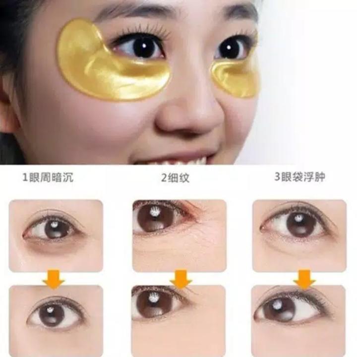 MASKER MATA Collagen Gold