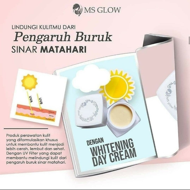 MS Glow Whitening Day Cream