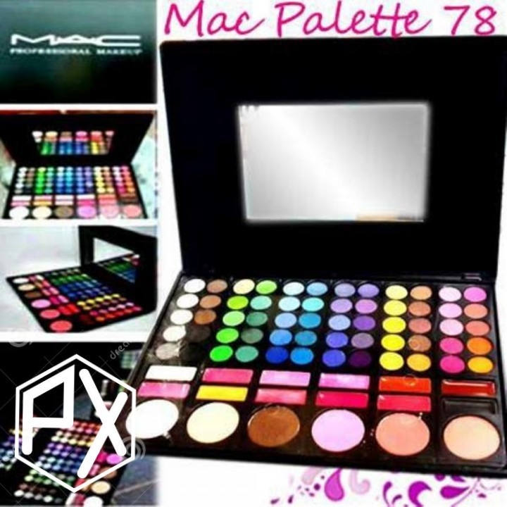 Mac Make-Up Palette 78 Warna