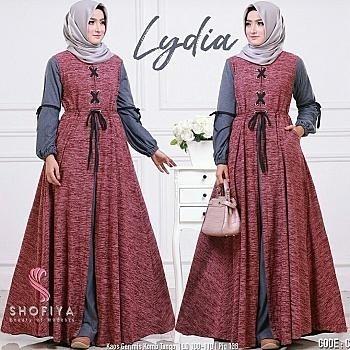 Fashion Celana Wanita Kulot Motif Salur Obos Daftar Harga Terkini Source · Maxy Lydia
