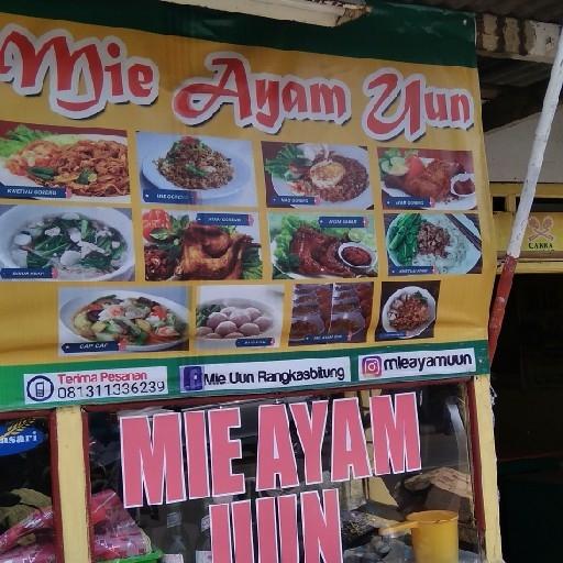 Mie Ayam Uun - DEPAN DR DIMYATI
