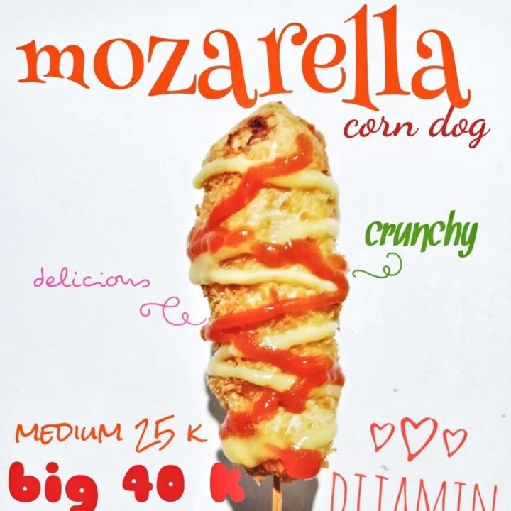 Mozarella Corn Dog