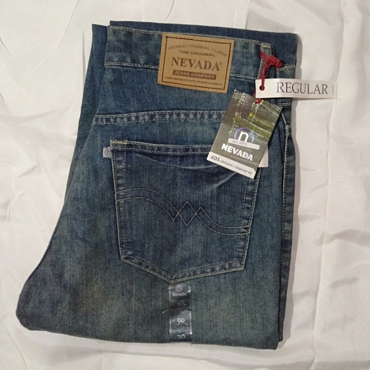 Nevada Celana Jeans Panjang Pria 02RS