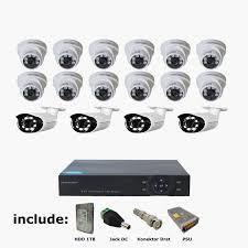 PAKET CCTV 16 CHANNEL MERK SPC