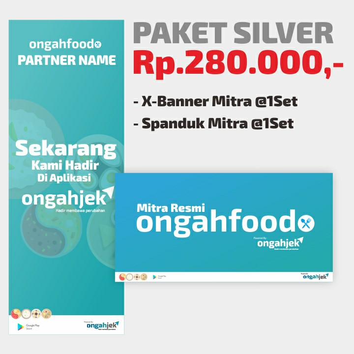 Paket Silver - OngahFOOD Partner