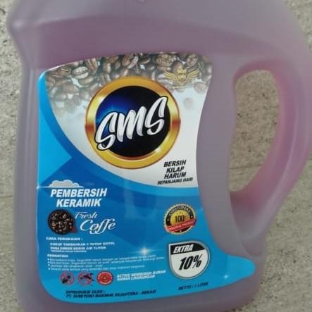 Pel Lantai  Aroma Coffe 1 Liter