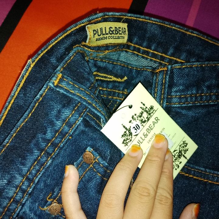 Plain List Jeans