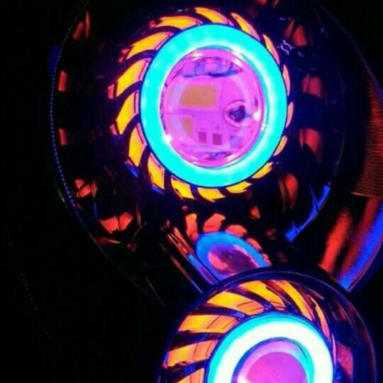 Projie LED Scoopy Karbu Scoopy Lama