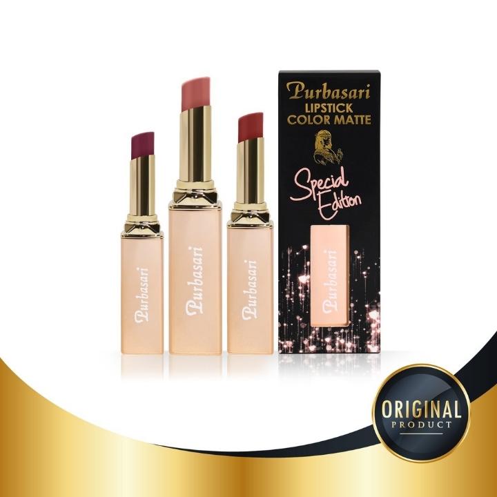 Purbasari Special Edition Lipstik Color MateAll Variant