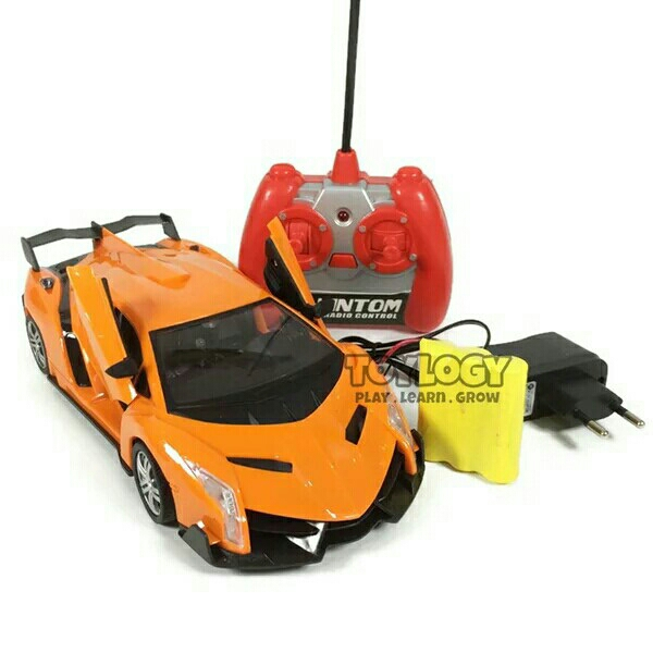 Radio Remote Control Mobil Sport Orange RC STREET RACE KS2018B