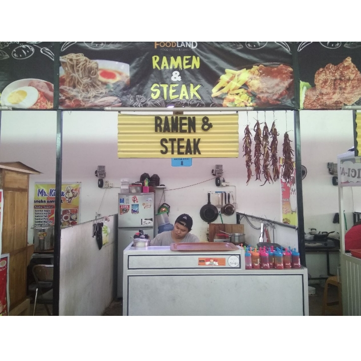 Ramen dan Steak - Foodland