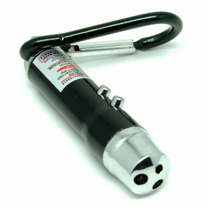 Red Laser Pointer Multi Fungsi  Flashlight  UV  OMLP0KBKL