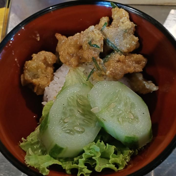 Rice Bowl Ayam Telor Asin