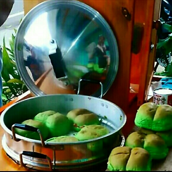 Roti Kukus Keju
