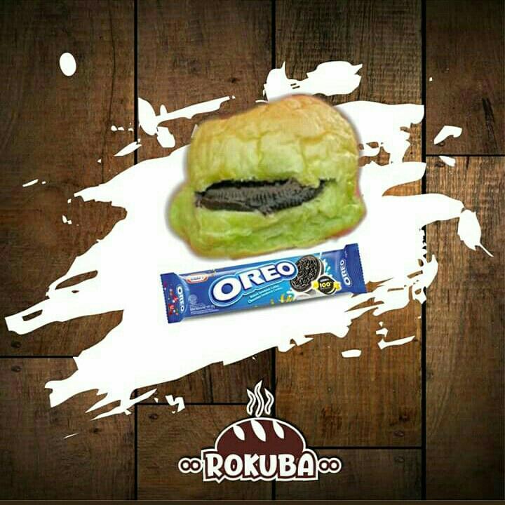 Roti Kukus Oreo