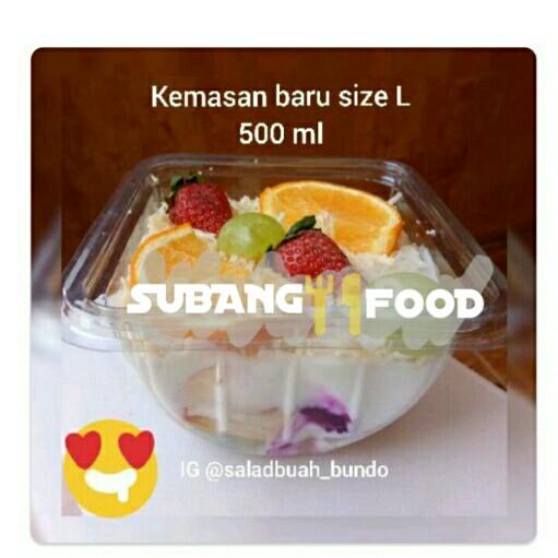 Salad Buah Mayo Saus Strawberry L