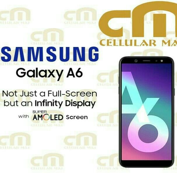 Samsung Galaxy A6 RAM 3GB ROM 32GB