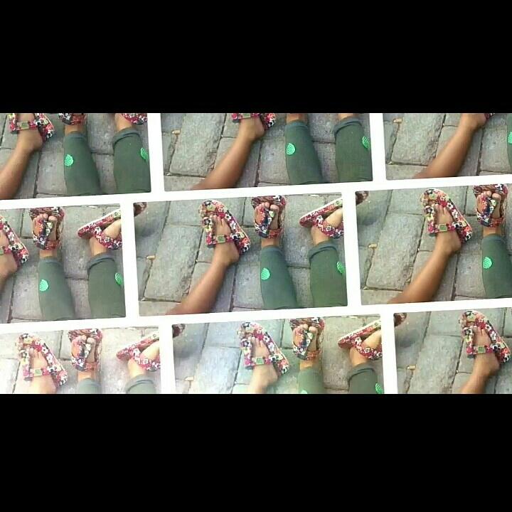 Sandal Anak Motif Batik