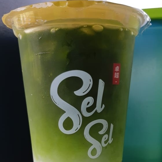 Sel Sel Cheese Tea Joyfull Green Tea