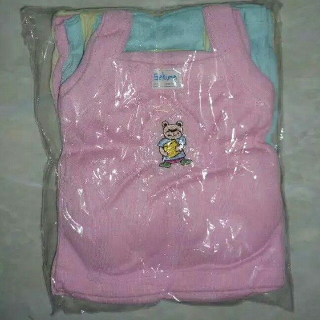 Selusin Kaos Dalam Bayi 0-12bln