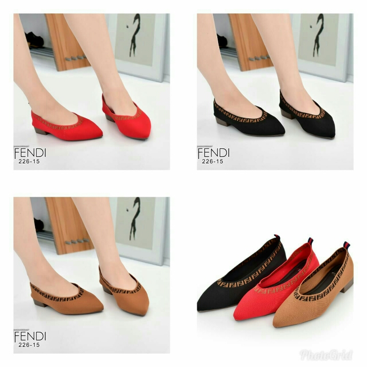 Sepatu FENDI Flat Shoes 226-15