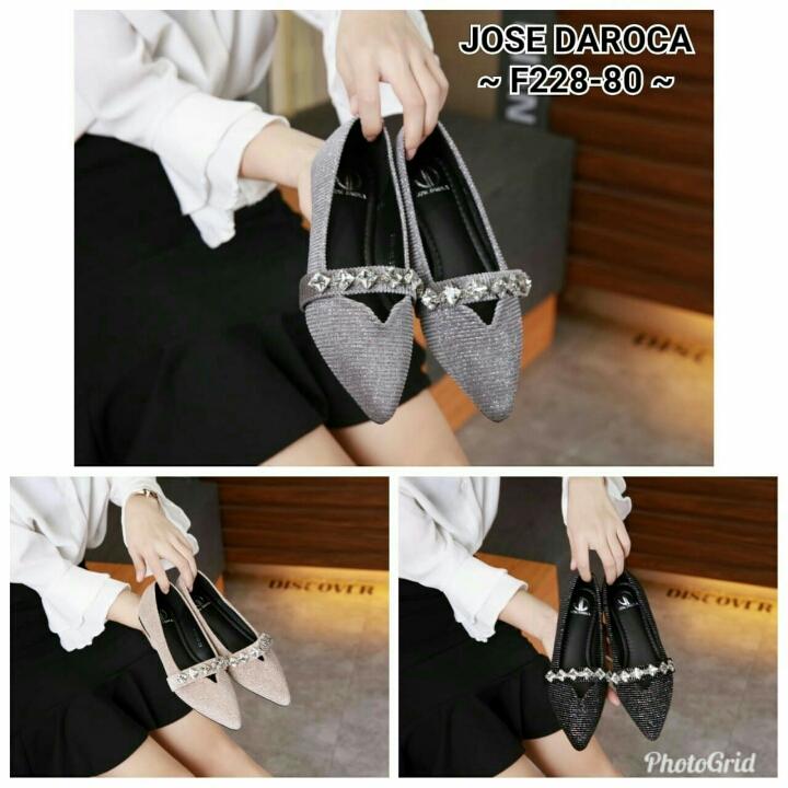 Sepatu Jose DAROCA Irenne Flat Shoes F228-80
