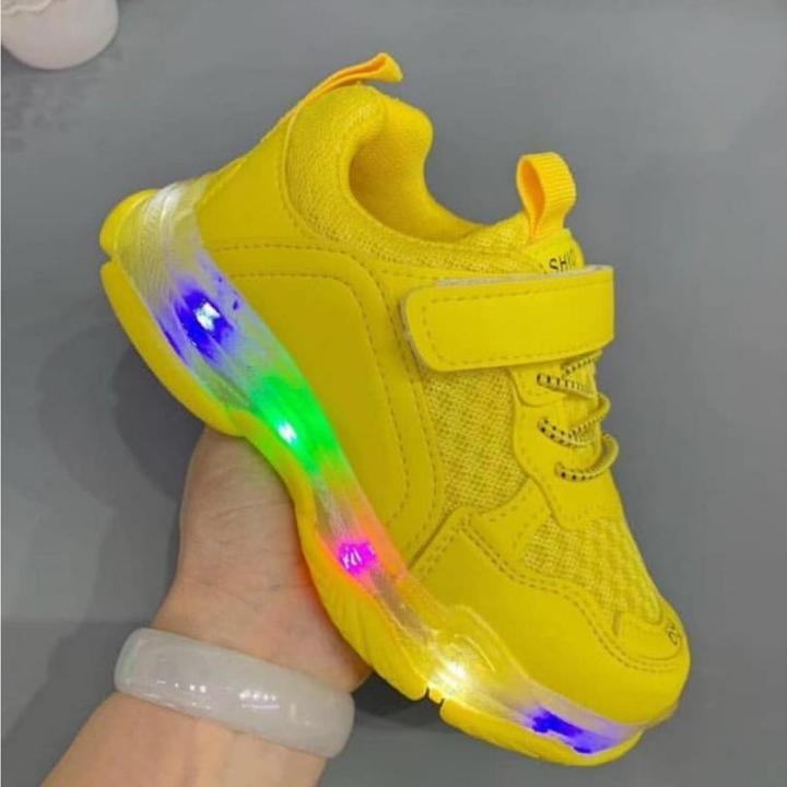Sepatu Led Colourfull