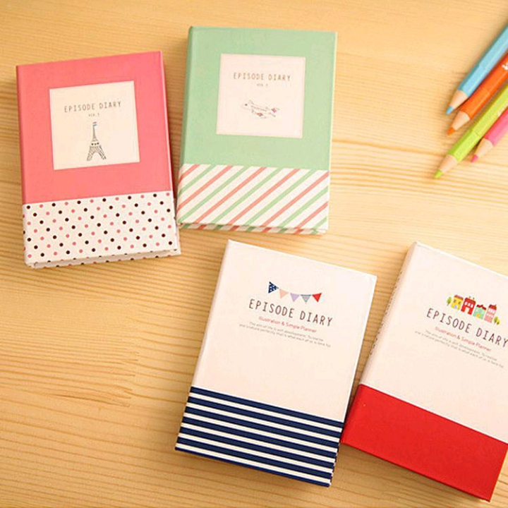 Set sticky notes dengan hard cover