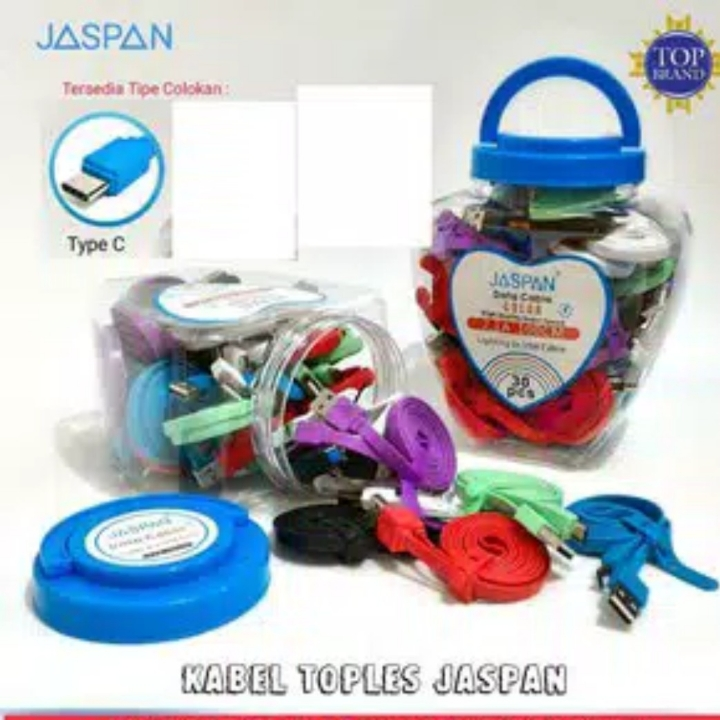 TYPE C Jaspan Kabel Data Toples TYPE C
