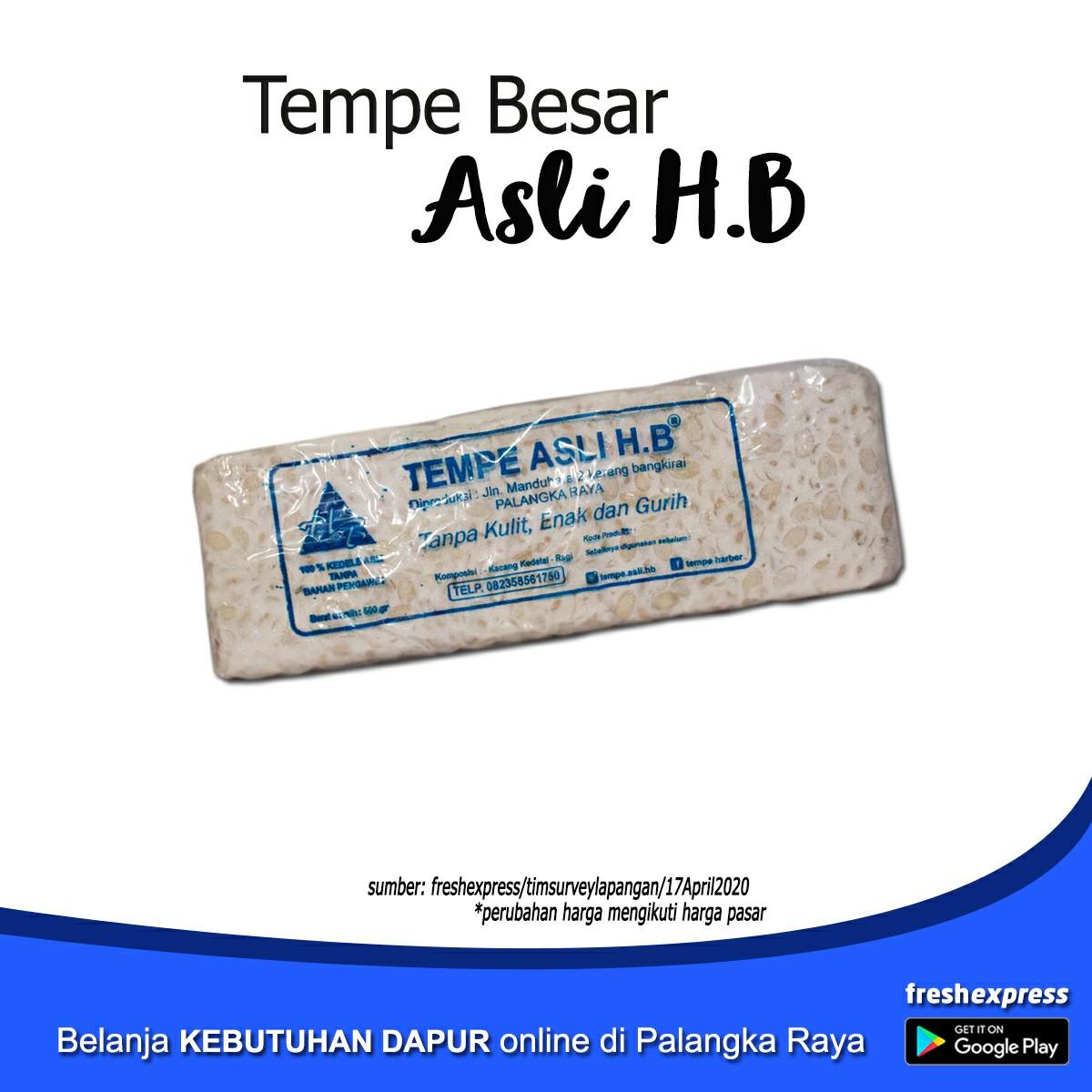 Tempe Label HB Ukuran Besar