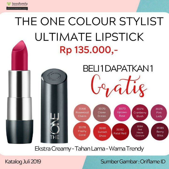The One Colour Stylish Ultimate Lipstick