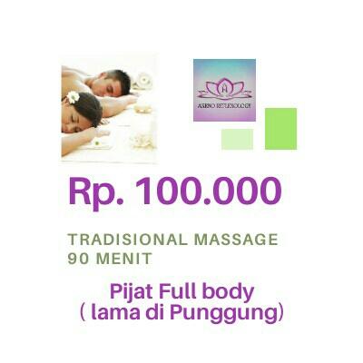 Tradisional Massage 90 Menit