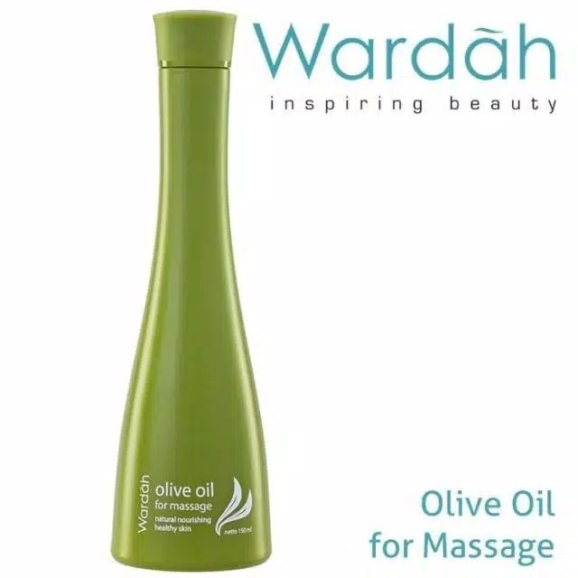 WARDAH OLIVE OIL FOR MASSAGE 150ml PURE OLIVE OIL